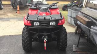 6. Arctic cat 250 4x4 cold start + comparison with Kawasaki prairie 300