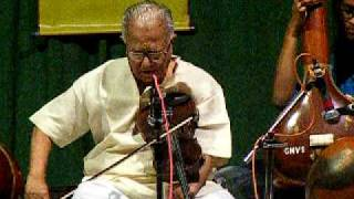 TN Krishnan (Violin) - FTII Pune - Jan 2010
