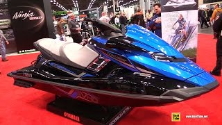 5. 2015 Yamaha WaveRunner FX SVHO Series Jet Ski - Walkaround - 2014 New York Motorcycle Show