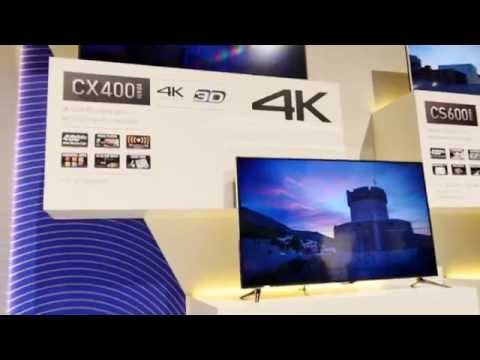Panasonic Viera CX400 Hands On [4K]