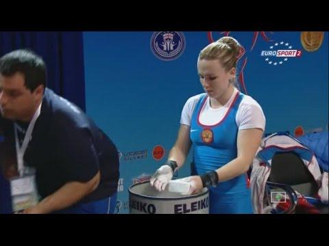 Чемпионат Европы 2015. Женщины в.к. до 53 кг.