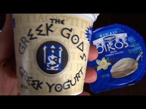 Yogurtlympics: A Greek Yogurt Face-Off