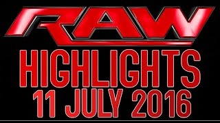 Nonton Wwe Raw 11 07 2016 Highlights Wwe Monday Night Raw 11 July 2016 Film Subtitle Indonesia Streaming Movie Download