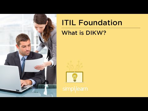 Simplilearn: Concepts of Knowledge Management: Data, Information, Knowledge, Wisdom (DIKW)