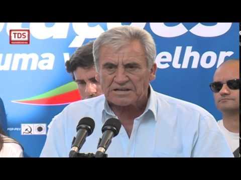 JERÓNIMO DE SOUSA ELOGIA JOÃO RAMOS