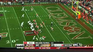 Mike Glennon vs Clemson (2012)