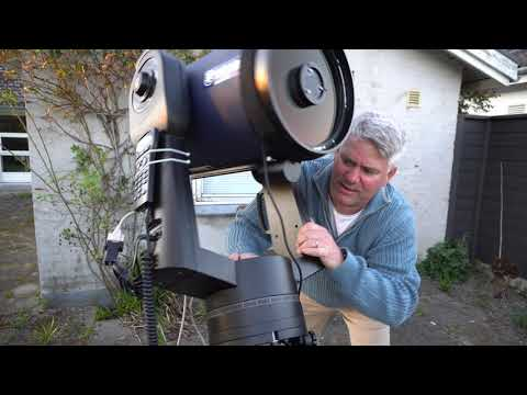 """A Night Out - Or how I setup my 10"""" Meade LX90 for astrophotography"""