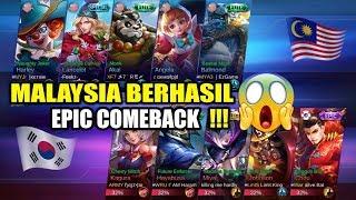 Pertarungan Panas !!! MALAYSIA Berhasil EPIC COMEBACK !!! MALAYSIA VS KOREA Arena Contest