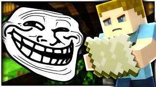 Minecraft: WHERE IS MY BASE TROLL!! | CRUNDEE CRAFT