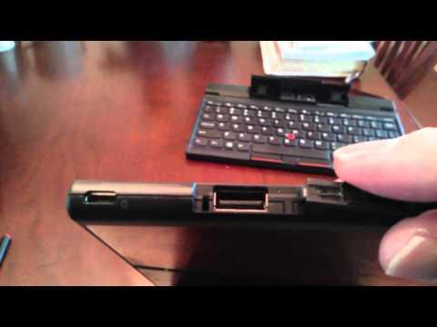 Lenovo Thinkpad Tablet 2 Review