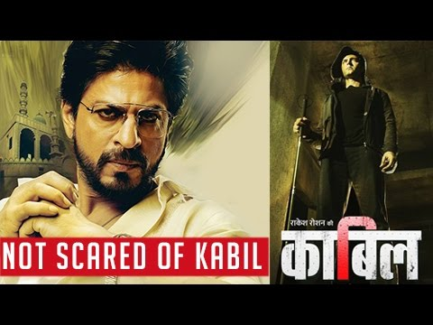 Shah Rukh Khan Not Scared Of Raees Kaabil Clash |