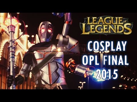 League Of Legends Opl 2015 Cosplay Highlights