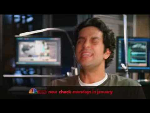 "Chuck Season 3 Promo #3 ""Evil-doers Beware"" {NBC Full Screen HD Quality}"