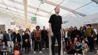 """SPIT! Manifesto\"" at Frieze London 2017"