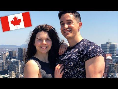 NOTRE VOYAGE EN AMOUREUX AU CANADA !! #1