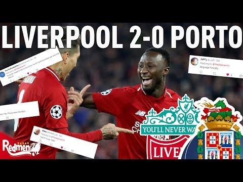 Liverpool V Porto 2-0 | #LFC Fan Twitter Reactions