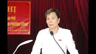 Đại biểu HĐND thành phố tiếp xúc cử tri phường Phương Đông
