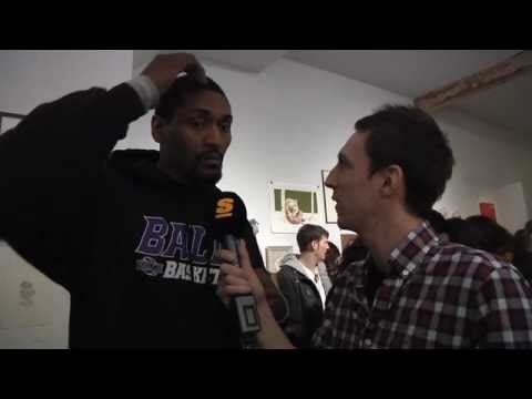 TheBasketballJoneses - Saturday, December 18th was a strange night in the life of Ron Artest, even by Ron Artest's standards. A group of Toronto artists created an art show celebra...