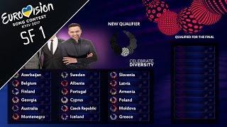 Video EUROVISION 2017: SEMI FINAL 1 - QUALIFIERS (PREDICITION) MP3, 3GP, MP4, WEBM, AVI, FLV Juni 2017