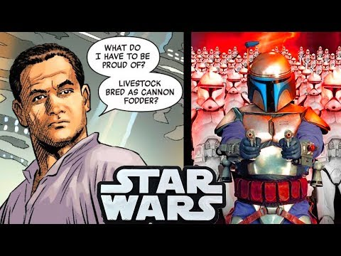 JANGO FETT REVEALS HIS THOUGHTS ON THE CLONE ARMY!!(CANON) - Star Wars Comics Explained