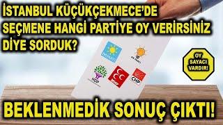 (YENİ)Nüfus Olarak İstanbul'un 2.Büyük İlçesi Küçükçekmece Halkı Hangi Partiye Oy Verecek ? Neden ?