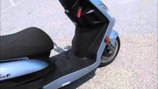 3. 2010 Kymco Yager GT 200i  stock #9-0202 demo ride & walk around @ Diamond Motor Sports