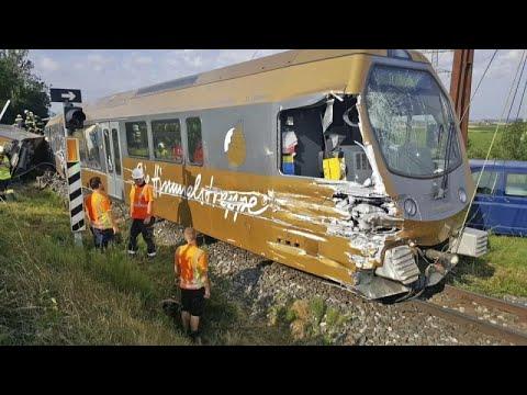 Mariazellerbahn: Zugunglück im österreichischen Völlerndorf