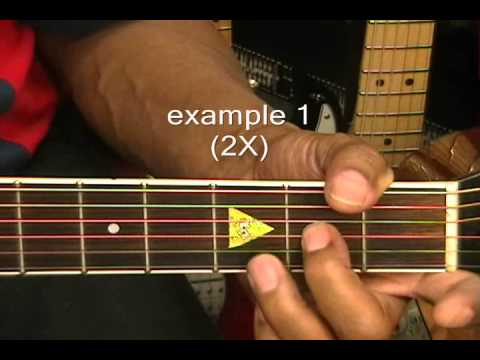 How To Play Your Very First BLUES GUITAR SOLO Prt 1 Lesson EricBlackmonMusic