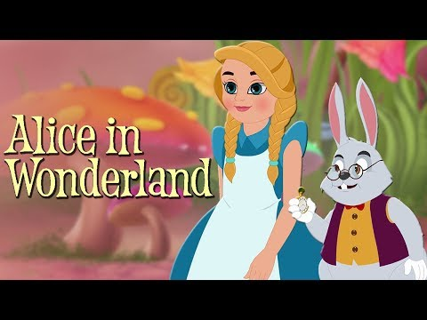 Alice in Wonderland Full Movie - Animated Fairy Tales - Bedtime Stories For Kids