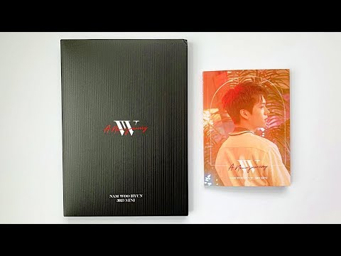 ☀️Inspirit Unboxes Nam Woohyun 남우현 3rd Mini A New Journey (Limited + Normal Edition)