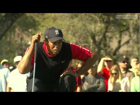 Tiger Woods and Rickie Fowler with a pair of great putts at the Arnold Palmer Invitational