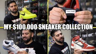 Video MY ENTIRE $100,000 SNEAKER COLLECTION!! *BEST ON YOUTUBE* MP3, 3GP, MP4, WEBM, AVI, FLV Februari 2019