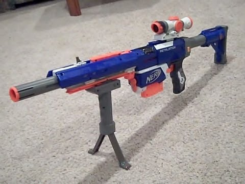current song image. New Nerf N - strike Elite Custom Sniper Retaliator Rifle  ...