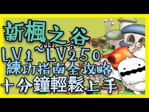 TMS【新楓之谷】Maplestory - LV10~LV250 練功指南全攻略! 十分鐘了解楓之谷