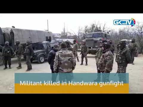 Militant killed in Handwara gunfight