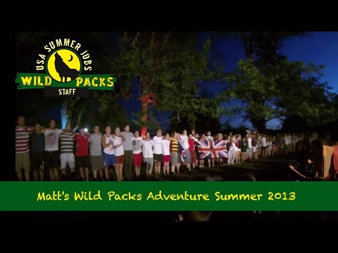Matt's Wild Packs Adventure Summer 2013