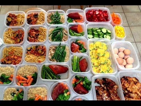 MEAL PREP FOR FITNESS AND WEIGHT LOSS