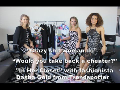 "V&S Episode: ""In Her Closet"" with Dasha Gold from The Trend Spotter"