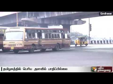 Bharat-bandh--Not-much-of-an-impact-in-Chennai