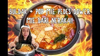Video BULDAK + POP MIE PEDAS DOWER = MIE DARI NERAKA!!! MP3, 3GP, MP4, WEBM, AVI, FLV Januari 2019