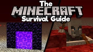 How To Portal To The Nether Roof! • The Minecraft Survival Guide (Tutorial Let's Play)[Part 244]