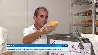 Solidariedade: comerciante doa pães de graça para quem não tem condições de pagar