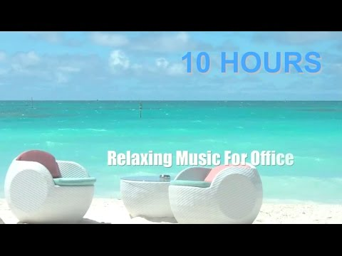 Music for Office: 10 HOURS Music for Office Playlist and Music For Office Work (видео)