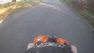 8. Kfx 400 top speed
