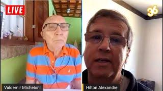 LIVE TIO MICA DIRETO DA RUA 27/08/2020 com Hilton Alves da Rádio Vibe 89,3FM