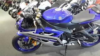 9. 2016 Yamaha YZF-R6 Team Yamaha Blue / Matte Silver