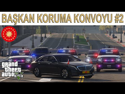 GTA 5 Başkan Koruma Konvoyu #2
