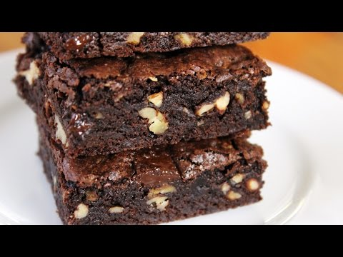 Dark Chocolate Fudge Brownies - Easy recipe Anyone Can Make