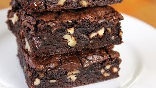 """""""I start by melting a dark chocolate bar with 70% cocoa to make the best fudge brownies ever,"""" says Jenny Jones. Her simple, healthier recipe uses no butter and takes 25 minutes start-to-finish. PRINTABLE RECIPE: http://www.jennycancook.com/recipes/dark-chocolate-fudge-brownies/MORE VIDEOS: http://www.youtube.com/user/jennyjonesvideosNEW RECIPES: http://www.JennyCanCook.comSHARE: Use this link to share Jenny's Dark Chocolate Fudge Brownies recipe video: http://youtu.be/OcU-b5kAjJ4SUBSCRIBE: Cooks are loving Jenny's easy, fun videos. Use this link to subscribe: http://www.youtube.com/subscription_center?add_user=jennyjonesvideosALL OF JENNY'S RECIPES: http://www.JennyCanCook.comYOU MIGHT LIKE:Easy Whole Wheat Bread - https://youtu.be/WWsY8IaoAV8Spaghetti & Meatballs - https://youtu.be/XAHNVoKV1BcBest Meatloaf Ever - https://youtu.be/HQtOXHghaL0Cinnamon-Raisin Bread - http://youtu.be/kcPsaVuhQXYSalmon Patties - https://youtu.be/6FbZlYpdP78More on Jenny: http://www.JennyJones.comPinterest: http://www.pinterest.com/jennycancook/Twitter: https://twitter.com/jennyskitchenFacebook: https://www.facebook.com/JennysHealthyHomeCookingInstagram: https://instagram.com/jennycancook/© Copyright 2015 - Jenny Can Cook - Jenny Jones"""