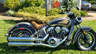 9. Overview Of The 2017 Indian Scout Icon Series 1 of 2 Motorcycles In The State of Virginia